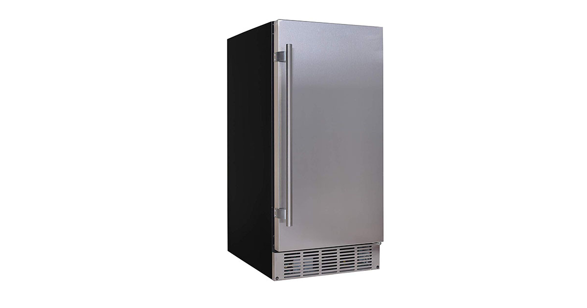 EdgeStar IB250SS 15-Inch Wide 20 Lb Built-in Ice Maker image