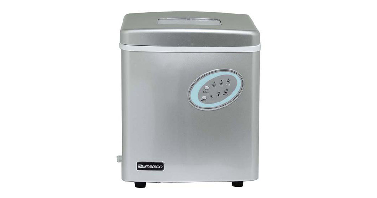 Emerson IM90 Portable Ice Maker White image