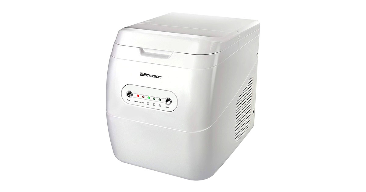 Emerson IM92W Portable Ice Maker White image