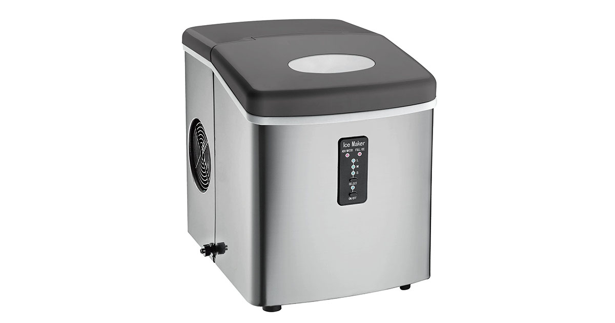 Igloo Ice103 Counter Top Ice Maker Review 26 Lbs Stainless Steel