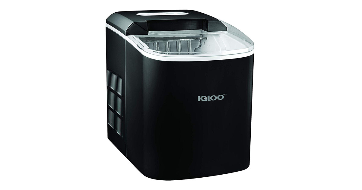 Igloo ICEB26BK Portable 26-Pound Automatic Ice Maker Black image