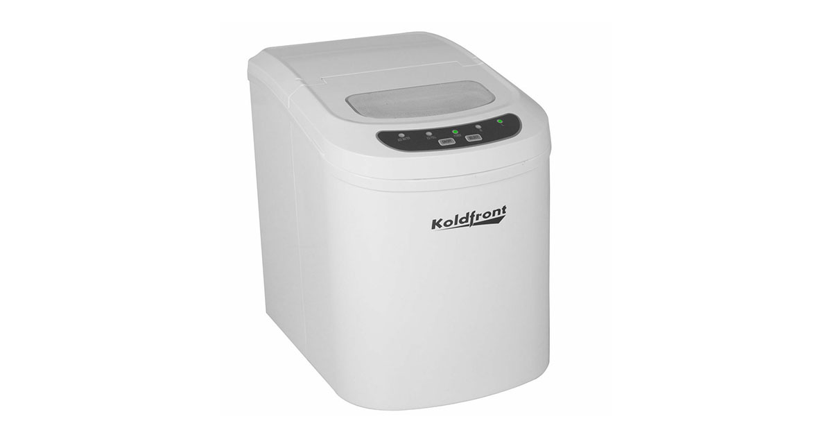 Koldfront KIM202W Ultra Compact Portable Ice Maker White image