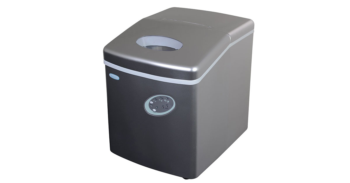 NewAir Portable Ice Maker 28 lb Daily Countertop Compact Design AI-100S image
