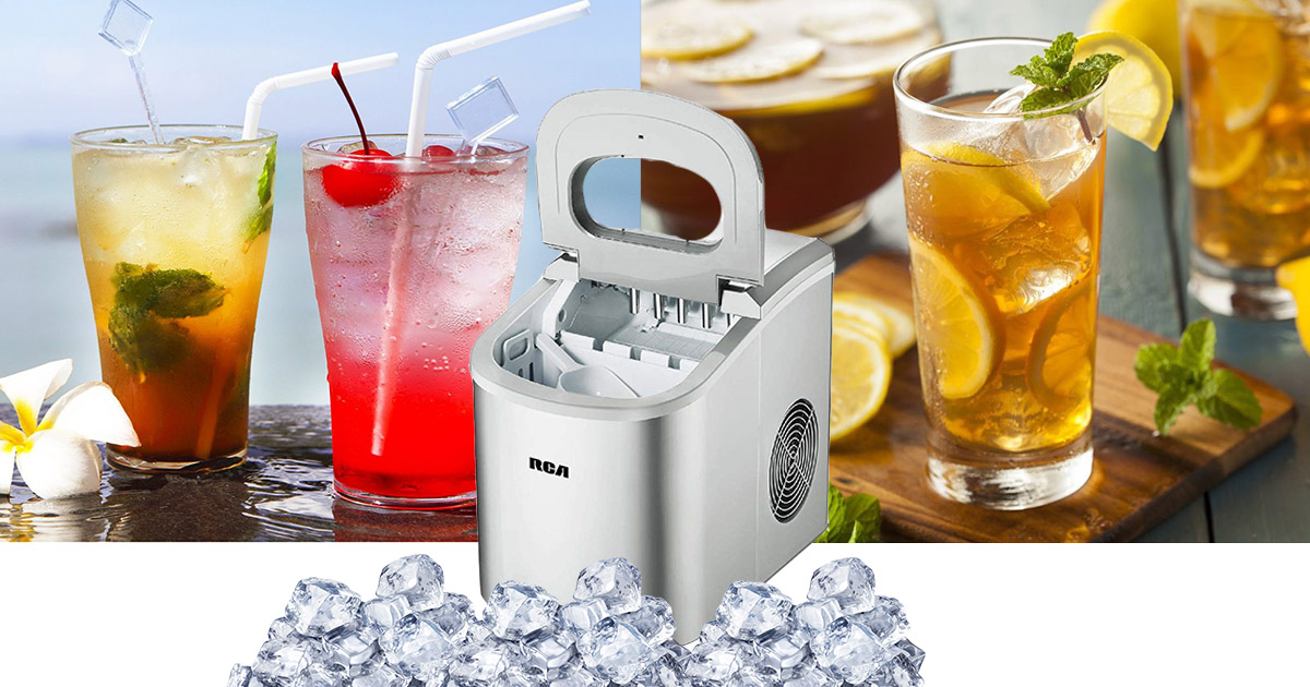 Rca Ric102 Silver Ice Maker Review Of 2019