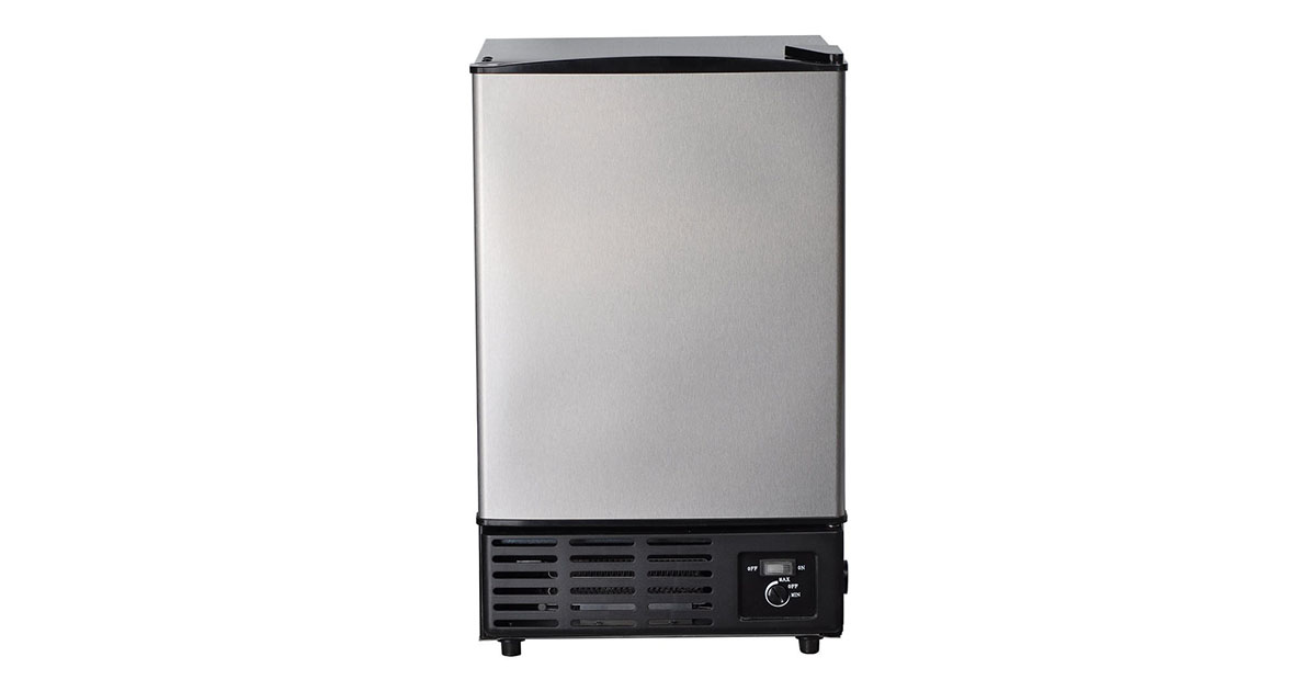 SMETA Built in Automatic SZB-26B Ice Maker Undercounter image