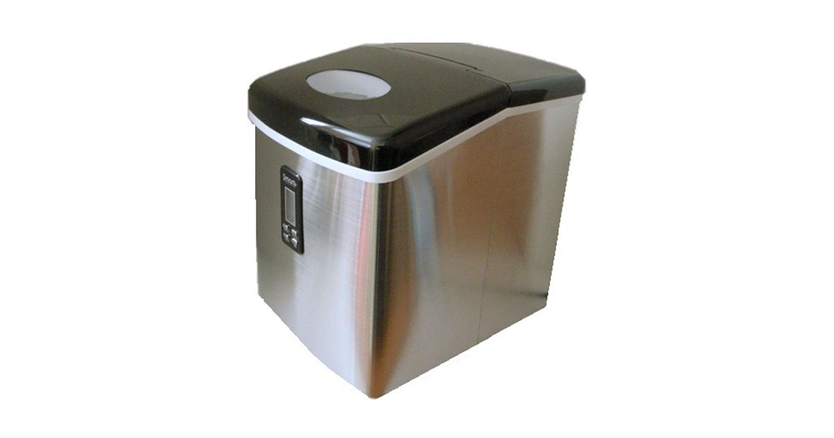 Smart Products SPP15AIM Portable Stainless Steel Ice Maker image