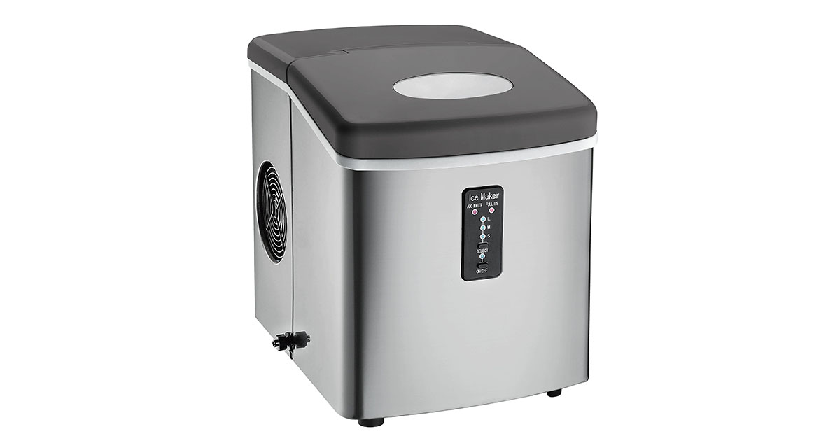 Stainless Steel Igloo Compact Ice Maker image