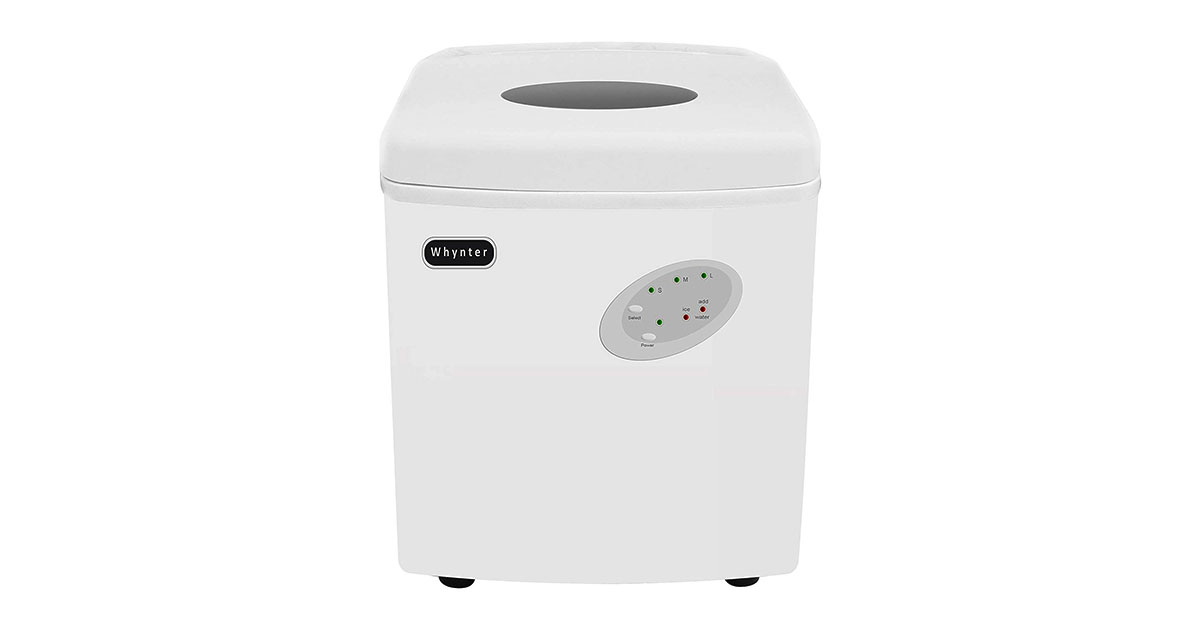 Whynter IMC-330WS Portable 33 lb Capacity White Ice Makers image