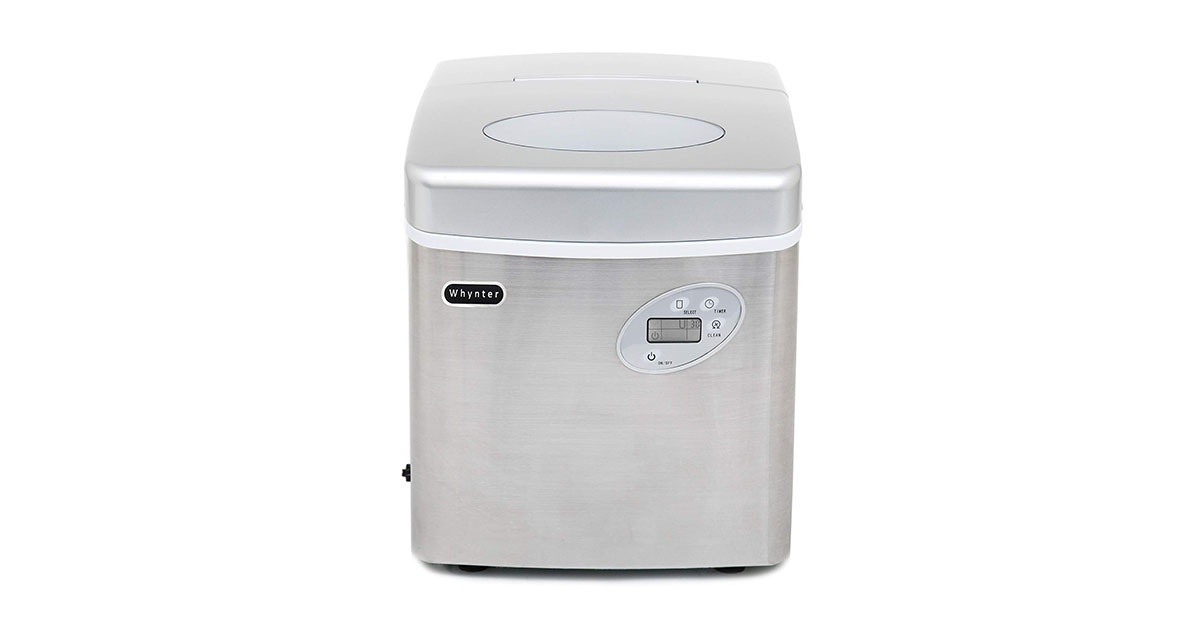 Whynter IMC-490SS Portable Ice Maker 49-Pound Stainless Steel image