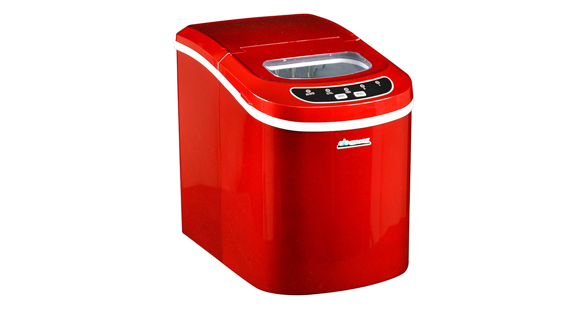 Avalon Bay AB-ICE26R Ice Maker Red image