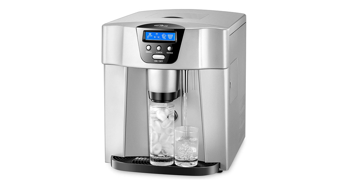 Countertop Ice Machine Kealive Portable ZB-10 Ice Maker image