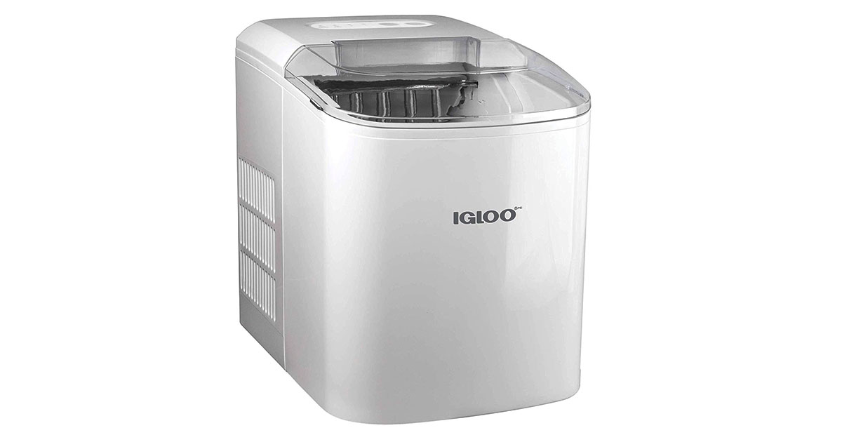 Igloo ICEB26WH 26-Pound Automatic Portable Countertop Ice Maker image