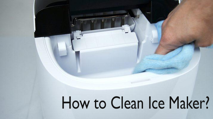 How to Clean a portable Ice Maker Image