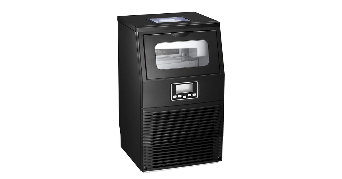 AGLUCKY Commercial Automatic Ice Maker image