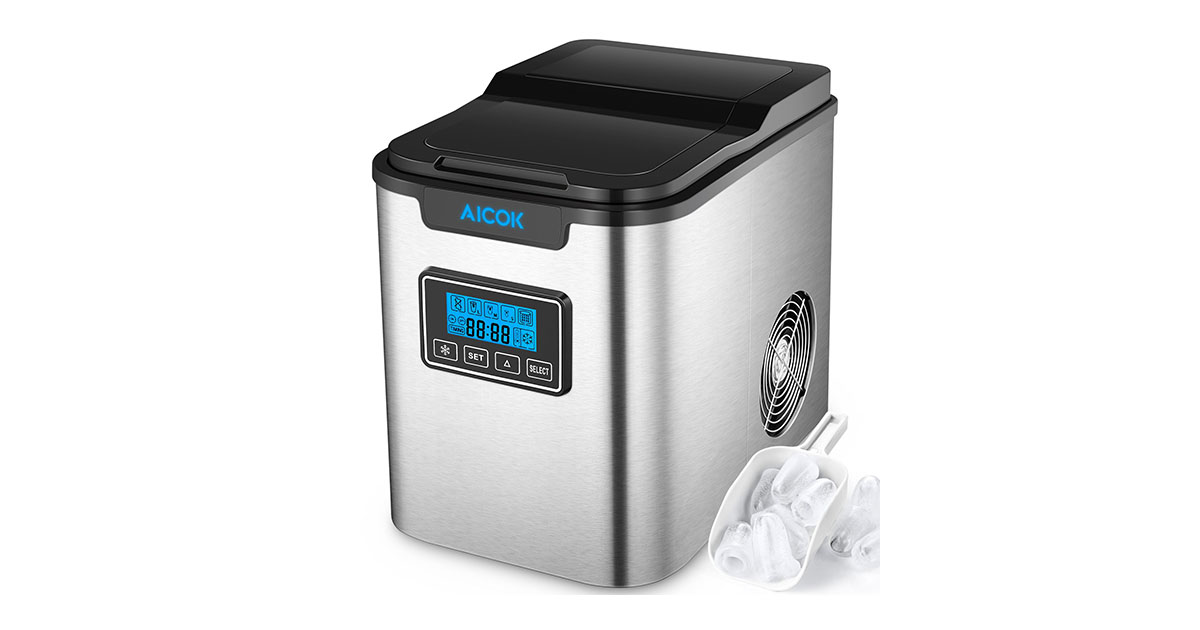Aicok Portable Ice Maker 26 Lbs Countertop Machine Reviewed