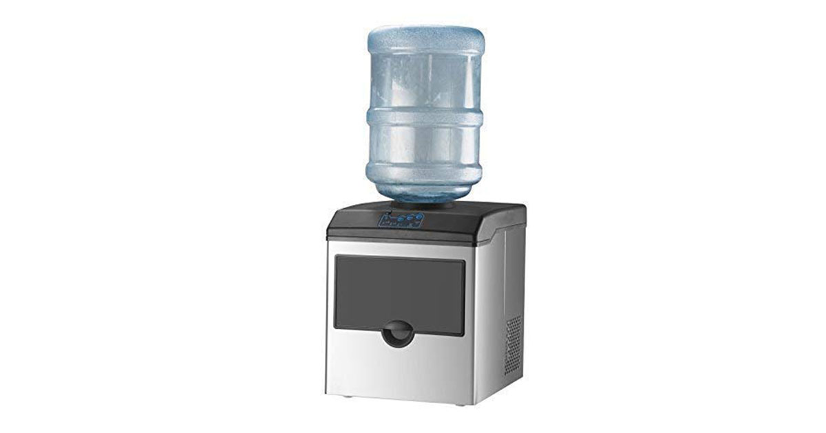 KUPPET 2 in 1 Commercial Ice Maker Machine With Water Dispenser image