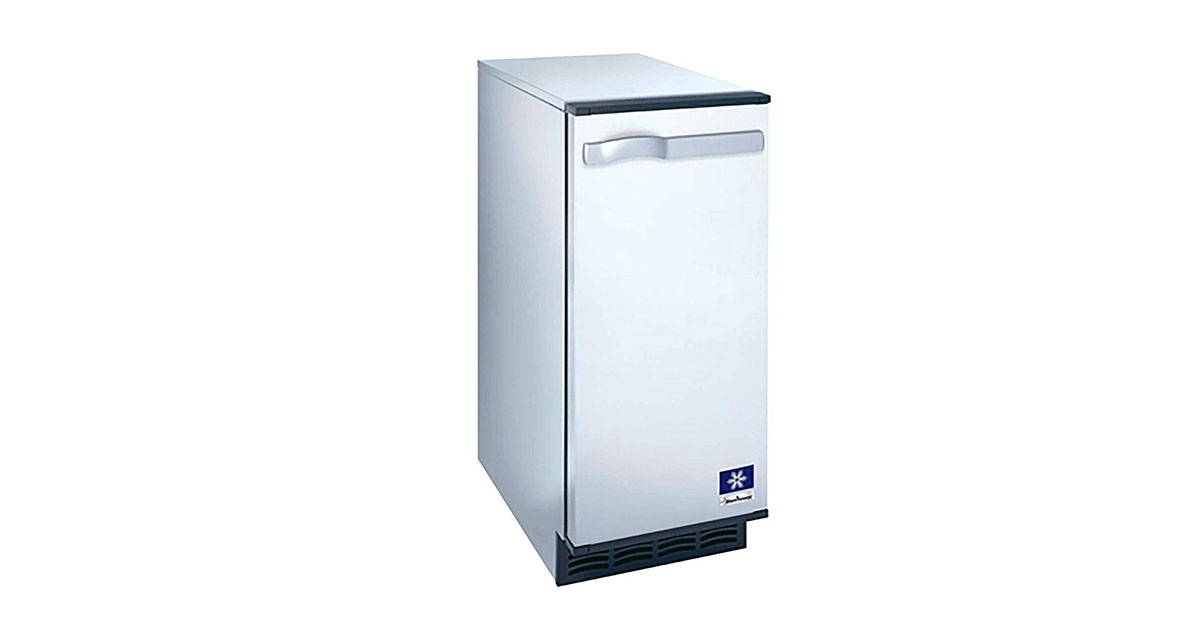 Manitowoc SM-50A 14 3/4 Air Cooled Undercounter Octagonal Cube Ice Machine image