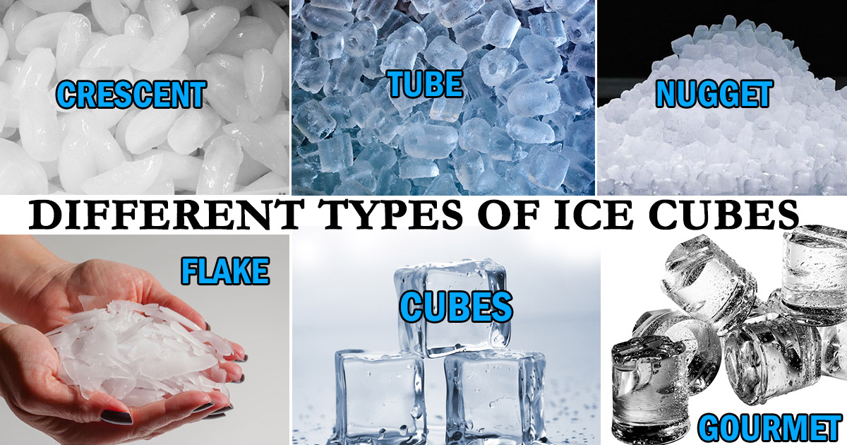 Different Types of Ice Cubes image