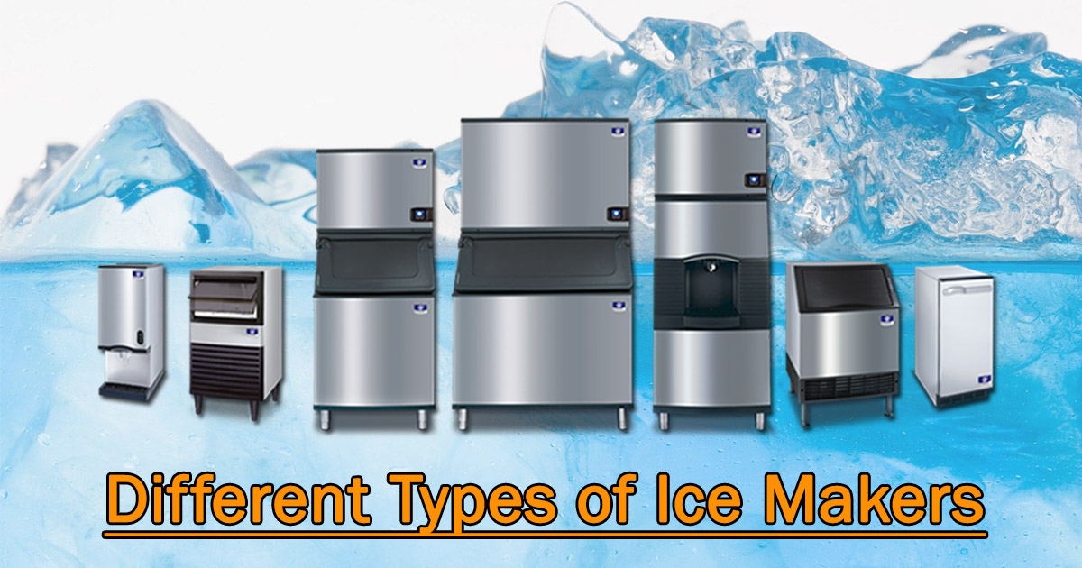 Different Types of Ice Makers image