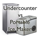Built-in vs Portable Ice Maker | Which is best? – Portable or Undercounter Ice Maker