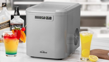 10 Best Selling Countertop Ice Makers that are convenient for Kitchen, RV, Home Bar or Boat