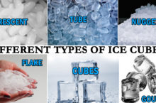 Types of Ice Cubes | Different Ice Cube Shapes produced by Best Ice Maker 2020