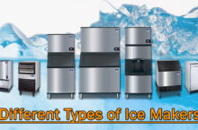 Different Types of Ice Makers 2020 | All about Portable, Commercial, Under Counter Ice makers