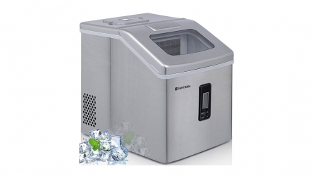 Sentern Portable Electric Clear Countertop Ice Maker – Get Crystal Clear Ice of 48 lbs Everyday