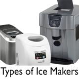 Different Types of Ice Makers | All about Portable, Commercial, Under Counter Ice makers