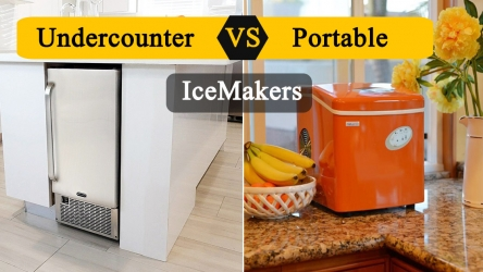 Built-in vs Portable Ice Maker 2020 | Which is best? – Portable or Undercounter Ice Maker