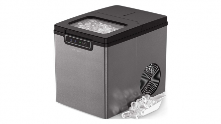 Vremi 26 lb Portable Ice Maker – Its Bullet ice cubes even fits your Small Water Bottle Openings!